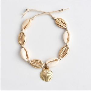 Boho Cowrie Shell Anklet